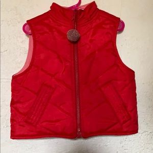 Red Vest Gymboree For toddlers